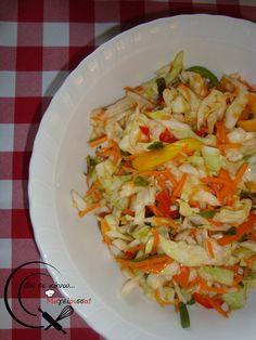 Πικάντικη Σαλάτα! Cooking Time, Cabbage, Salads, Meat, Vegetables, Recipes, Food, Vegetable Recipes, Eten