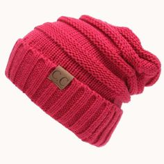 664f001717a19 Women Winter Knitted Wool Cap CC Beanies Unisex Casual Hats   Caps Men  Solid Color Hip-Hop Skullies Beanie Warm Hat