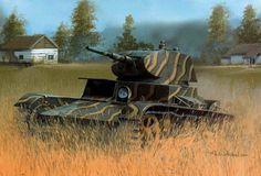 Light tank T-26 Model 1938 / czołg lekki T-26 Model 1938