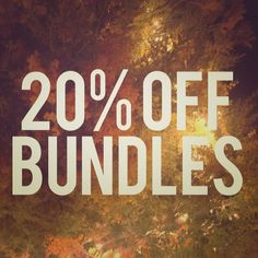 """20%+ discount on all bundles of 2 or more items Interested in multiple items? Willing to bundle for additional 20%+ off!  How to get started? Click """"like"""" on your favorite items and leave me a comment!  Other"""