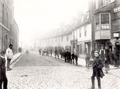 Lost London -Mill Lane Lewisham 1890