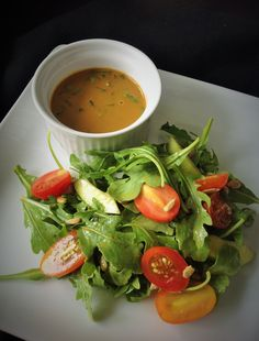 Oil-Free Balsamic Salad Dressing - Healthy, Easy, Fat-Free, Low-Calorie, Plant-Based, Vegan Sauce Recipe
