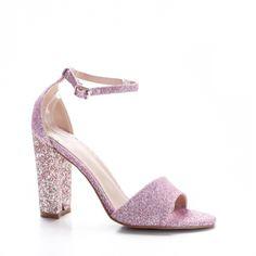 Sandale Cedori roz cu toc gros Heeled Mules, Heels, Fashion, Moda, Shoes Heels, Fasion, Heel, Trendy Fashion, High Heel