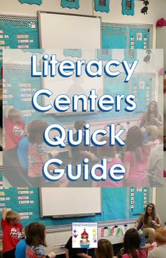 Literacy centers establishes instructional methods to ensure dual language students achieve success and the learning objective as you instruct during guided reading. Learning Goals, Learning Objectives, Literacy Stations, Literacy Centers, Co Teaching, Teaching Ideas, Student Volunteer, Writing Station, Classroom Labels