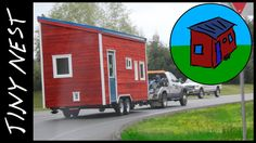 Moving a Tiny House (Ep.50) Tiny house being towed to the next town.
