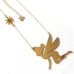 Elves Gold Necklace