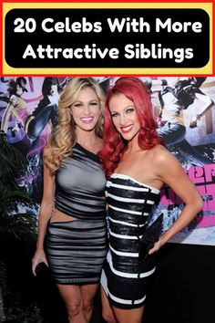 We are so used to seeing celebrities, that we don't have a single idea of how their #celebrity #siblings #attractive #beauty Nintendo Ds Pokemon, Male To Female Transition, A Discovery Of Witches, Ali Larter, Destiny's Child, Beyonce Knowles, Chris Hemsworth, Looking Stunning, Beautiful Celebrities