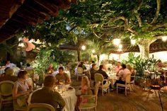 Le restaurant étoilé l'Oasis à Mandelieu-La Napoule