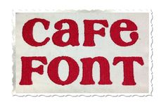 $2.95Cafe Machine Embroidery Font Alphabet