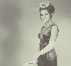 "Miss Fairfield 1970 - Valerie Wells - in the ""Crucible"" yearbook of Fairfield High School of Fairfield, Alabama.  #Fairfield #Alabama #Crucible #yearbook #1970"