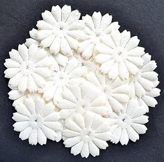 100PC 12 Petal Mulberry paper Flowers 48mm PEPPERLONELY http://www.amazon.com/dp/B00WTAORJ4/ref=cm_sw_r_pi_dp_NmuDvb0EX1H3T