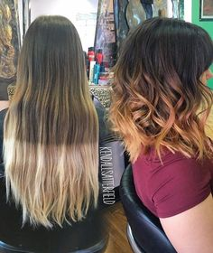 """1,296 Likes, 53 Comments - Kendall Satterfield (@kendallsatterfield) on Instagram: """"#throwbackthrusday to my favorite transformation. Saving lives, one bad ombré at a time 😏"""""""