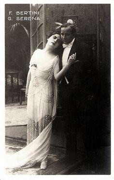 Francesca Bertini & Gustavo Serena in La signora delle camelie (1915)