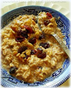 overnight refrigerator oatmeal ~ super easy, no-cook way to make your morning breakfast!