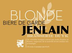 Bière Jenlain on Behance