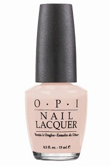 OPI Hopelessly in Love.  Best nude nail polish EVER.