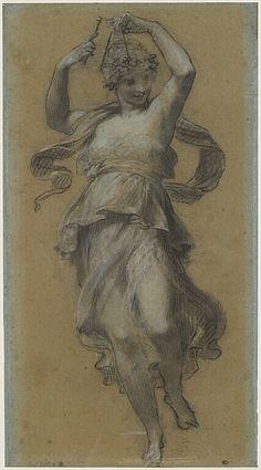 PRUD& Pierre Paul La Danseuse au triangle - in Cluny . Figure Drawing, Painting & Drawing, Art Sketches, Art Drawings, Art Du Croquis, Human Anatomy Drawing, Art Ancien, Art Antique, Classic Paintings
