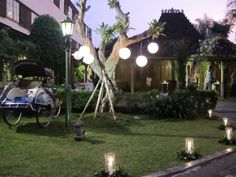 Frontyard decoration - Balai Sarwono