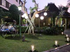 Frontyard decoration - Balai Sarwono
