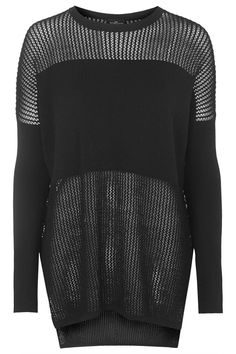 Photo 1 of PETITE Clean Mesh Panel Jumper