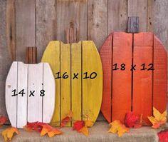 Porch Pumpkins Made Of Pallets