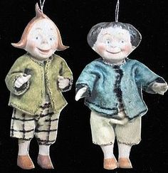 Max and Mortiz from ~ LEE FEICKERT-THE LITTLE ONES ~ found @Doll Shops United  http://www.dollshopsunited.com/stores/leefeickert/items/1271538/Max-Mortiz #dollshopsunited