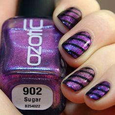 Ozotic 902 and 906 mani creation by Bulleuw! WOWZER stunning!
