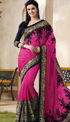 Buy Latest Fashionable Designer Saree online at lowest cost.   #DesignerSaree Link- http://www.efello.ca/Saree