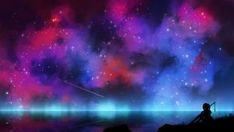 Orange Peaks by kvacm on DeviantArt Art Google, Fantasy Art, Northern Lights, Silhouette, Deviantart, Illustration, Inspiration, Magic, Google Search