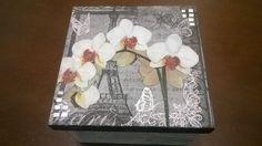 caixa orquideas