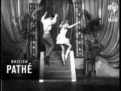 Unused / unissued material - no paperwork - dates unclear or unknown. A male dancers does a cossack-style dance as he comes down a short set of steps. Pointe Shoes, 1930s, Tap Shoes, Acting, Dancer, Stage, Footwear, Ballet, Shoe