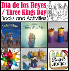 Día de los Reyes : Three Kings Day Crafts and Activities For Kids
