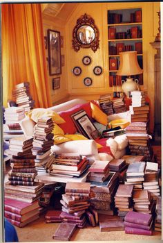 """The best decoration in the world is a room full of books."" -Billy Baldwin"