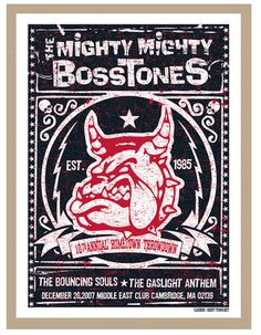 GigPosters.com - Mighty Mighty Bosstones, The - Bouncing Souls, The - Gaslight Anthem