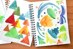 Using Mod Podge as a watercolor resist | Mod Podge Rocks! | Bloglovin'