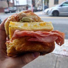 A Ham & Egg Biscuit done right. [OC] http://ift.tt/2dQQZVq