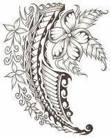 Although Polynesian tattoos come in all different styles, most of them include a tribal design along with a symbol of nature, such as a flower, sea turtle Maori Tattoos, Polynesian Tattoos Women, Hawaiian Tribal Tattoos, Samoan Tribal Tattoos, Polynesian Art, Polynesian Tattoo Designs, Filipino Tattoos, Marquesan Tattoos, Cute Tattoos