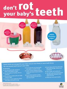 Info for good dental health in babies www.dentalcapecod.com www.facebook.com/DAOCC Tweet: @Dental Associates of Cape Cod