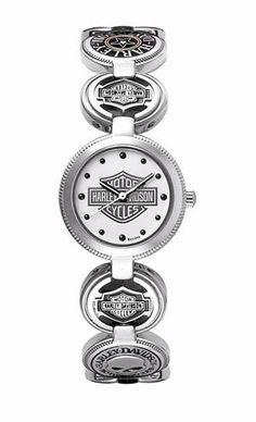 Womens Harley Davidson Multi Charm Watch by Bulova 76L145