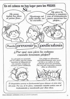 Prevención de la pediculosis
