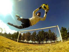 A national team keeper in the making. Photo captured using 30/1 Burst Mode and the GoPro App by Hector Estrada.