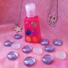 Jeweled Essential Oil Hand Sanitizer by BsEssentialOils on Etsy