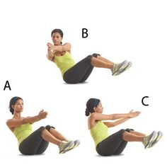 Healthy Fit Woman Body | Seated Rotation | Womens Health Magazine
