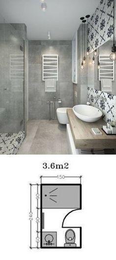 Casinha colorida: Como planejar (ou reformar) o banheiro: os com chuveiro