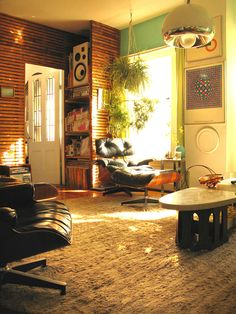 I love the way their spaces feel like the interiors of all the great '70s ...I like it.