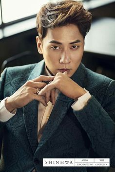 SHINHWA 13TH UNCHANGING-TOUCH CONCEPT PHOTO- ANDY