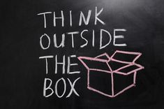 Innovation is to think outside the box, to think further to think of things no one has thinked before, to be origanal, have good ideas Thinking Outside The Box, Writing Workshop, Blog Writing, Creative Writing, Chalk Writing, Btob, Lessons Learned In Life, Life Lessons, Communication