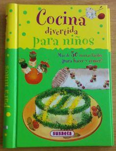 Divertido libro para que los niños aprendan a cocinar y se diviertan!