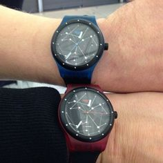 #Swatch SISTEM BLUE & SISTEM RED  ©stawi_de