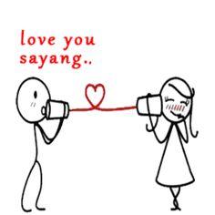 Gambar DP BBM Kata Aku Cinta Kamu 13